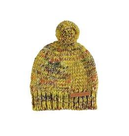 piupiuchick Knitted hat flecked mustard