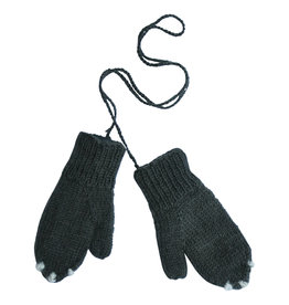Hats over heels Skunk gloves