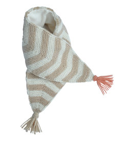 Hats over heels Skunk scarf | beige