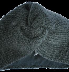 Hats over heels Turban hat | dark grey
