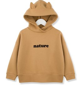 Kids on the moon Nature hoodie