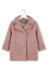 Kids on the moon Pink moss coat