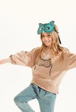 Kids on the moon Owl mask sweatshirt