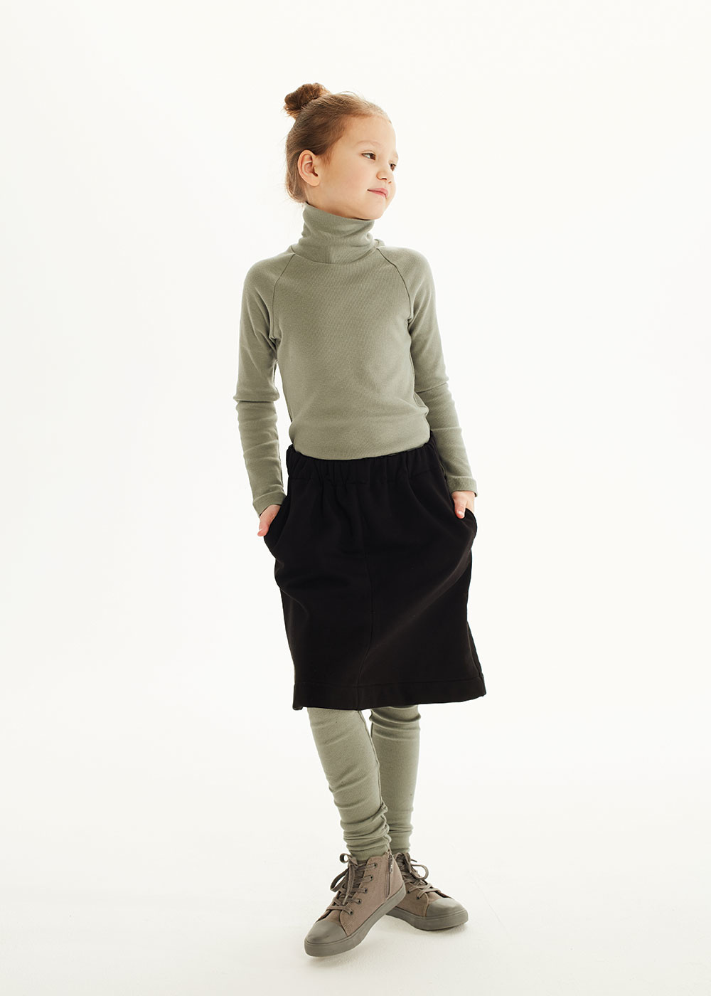 Kids on the moon Forest turtleneck top