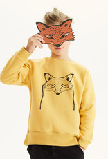 Kids on the moon Fox mask sweatshirt