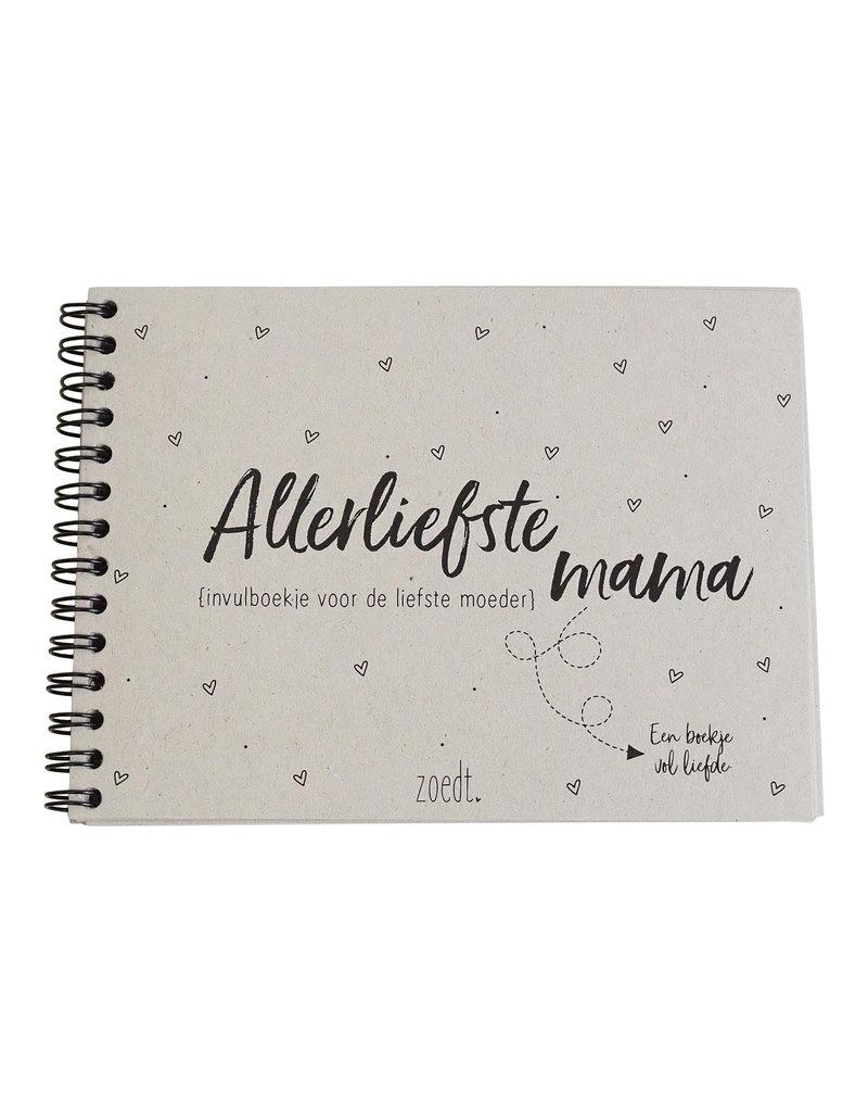 Zoedt Allerliefste mama - invulboekje voor de liefste moeder