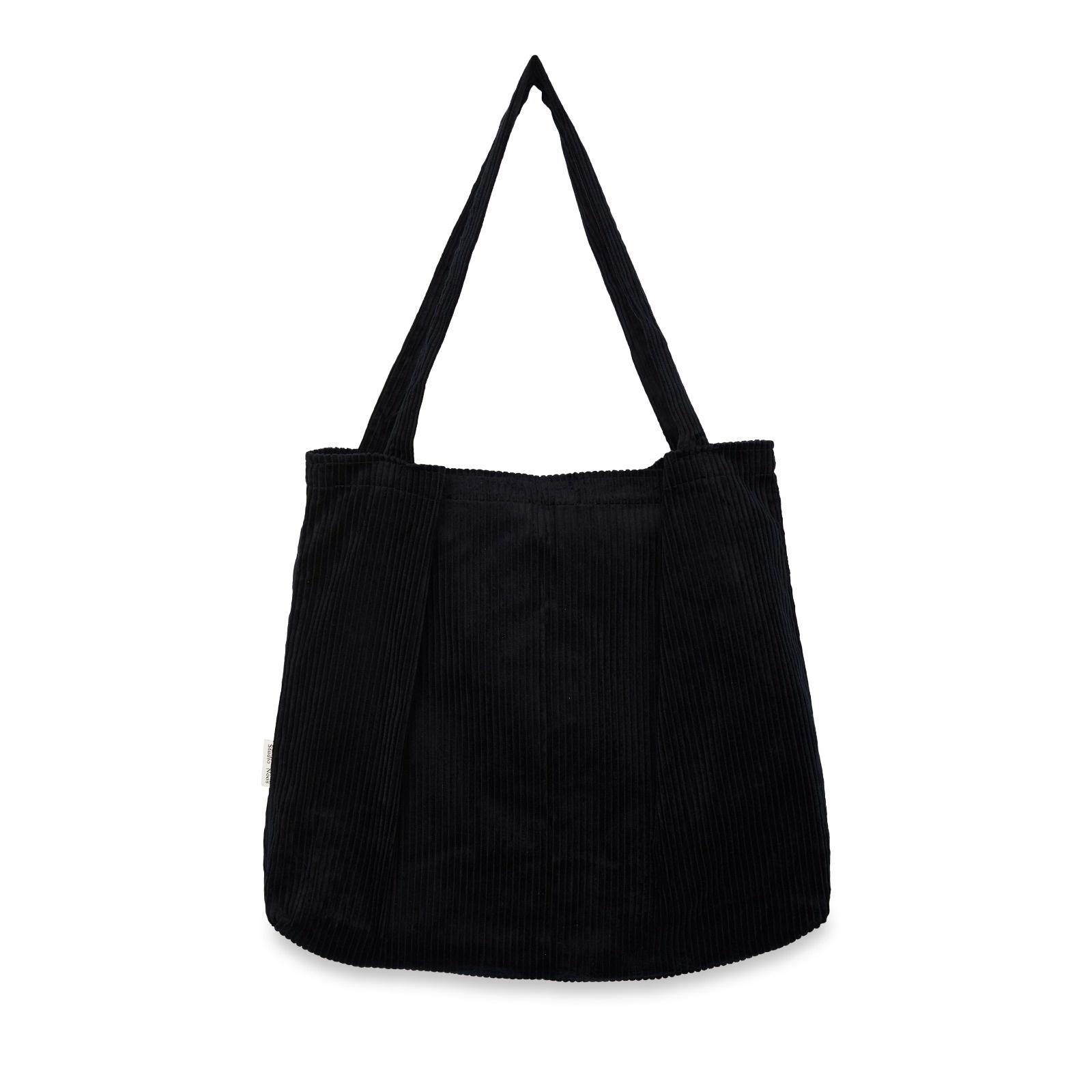 Studio Noos Midnight rib mom bag
