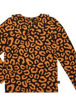 CarlijnQ Leopard collar longsleeve