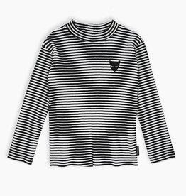 Sproet & Sprout T-shirt jersey y/d stripe| black stripe