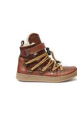 Bear & Mees Snowboots brown croco