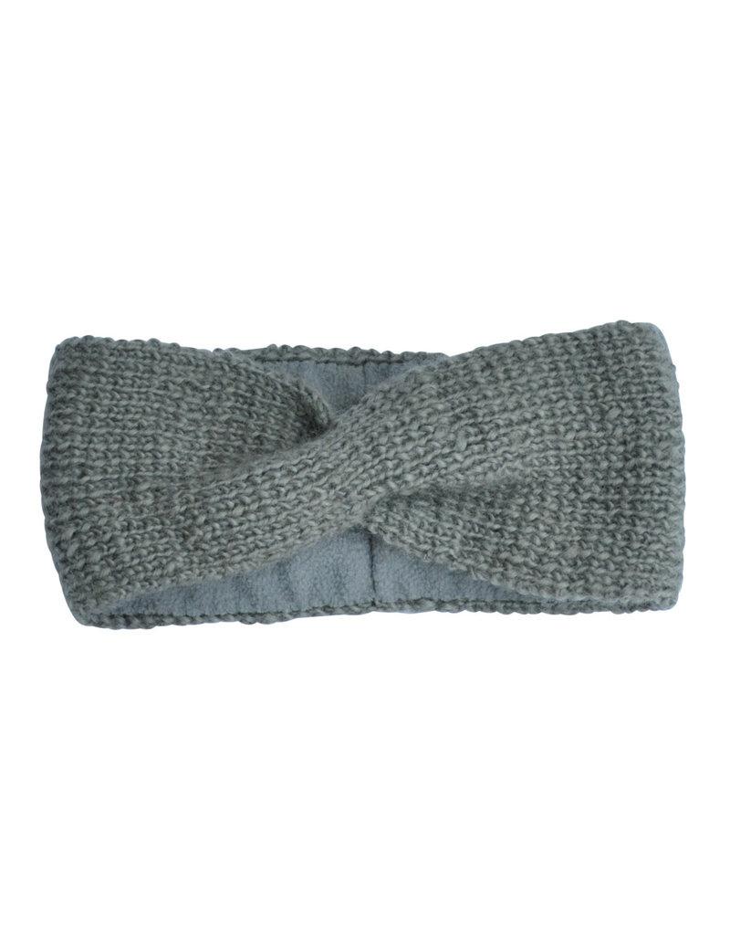 Hats over heels Turban headband |Grey