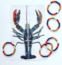 Feest-beest colorblocking armbandjes