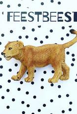 Feest-beest Feestbeest leeuwenwelpje
