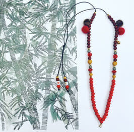 Feest-beest red carpet ketting