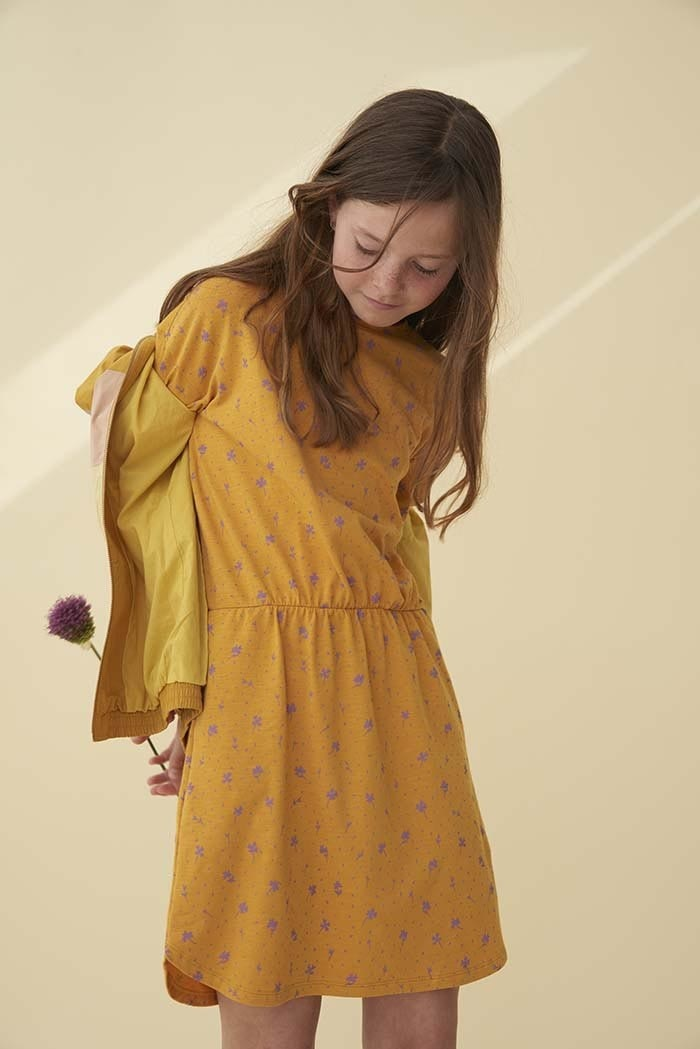 Soft gallery Delina dress | Sunflower AOP clover