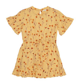 Soft gallery Dory dress|golden Apricot AOP