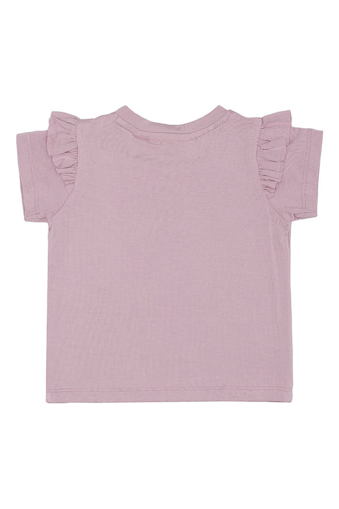 Soft gallery Sif t-shirt | Dawn pink snailey