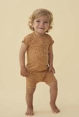 Soft gallery Flinn bodysuit taffy AOP leopspot