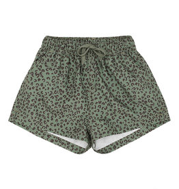 Soft gallery Edison swim pants |oil green Aop