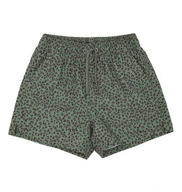Soft gallery Dandy swim pants | oil green AOP leospot