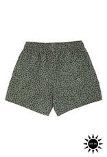 Soft gallery Dandy swim pants   oil green AOP leospot