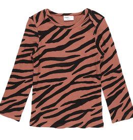 Maed for mini Blushing zebra longsleeve
