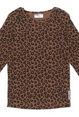 Maed for mini Brown leopard longsleeve