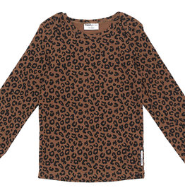 Maed for mini Brown leopard longsleeve