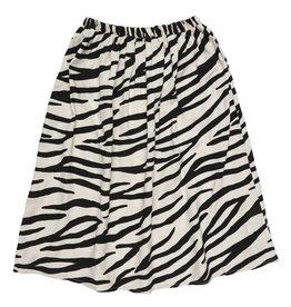 Maed for mini Smiling zebra long skirt