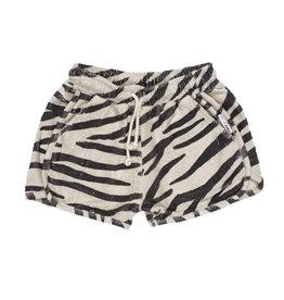 Maed for mini Smiling zebra shorts