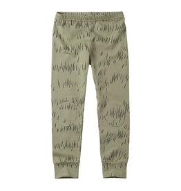 Mingo Legging jersey | grass print oak