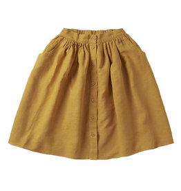 Mingo Linen skirt | spruce yellow