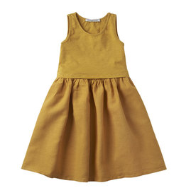 Mingo Sleeveless dress | spruce yellow