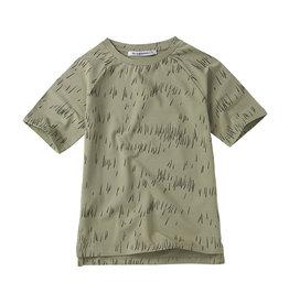 Mingo T-shirt jersey | Grass Print Oak