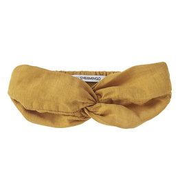 Mingo Headband Linen  | Spruce Yellow