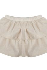 Little Indians Skirt gold stripe
