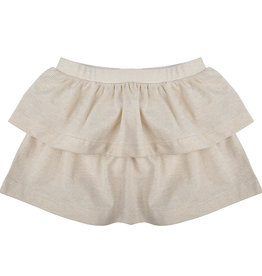 Little Indians Skirt gold stripe