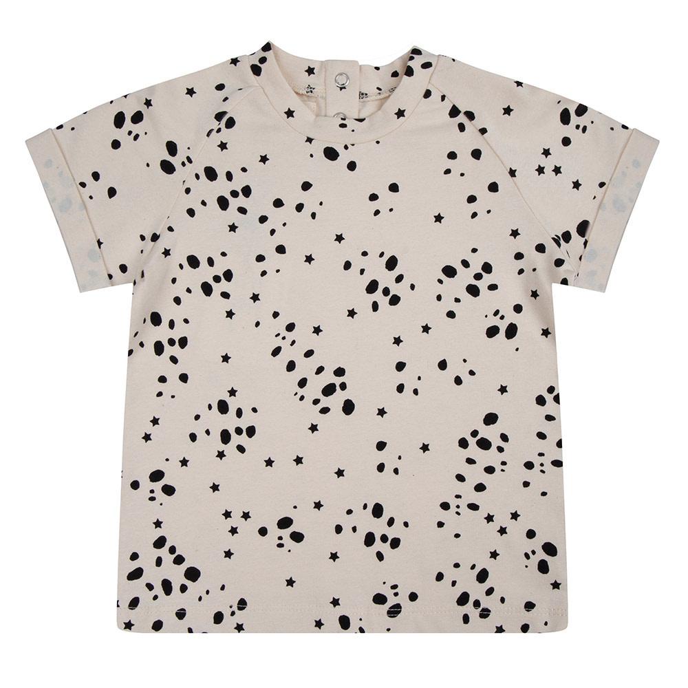 Little Indians Shirt wild stars |ecru