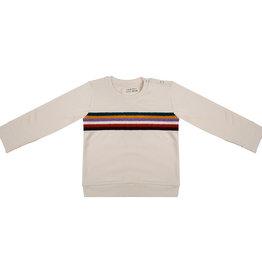 Little Indians Sweater colurful sunset | ecru