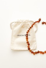 Grech & Co Amber kinder ketting | strength