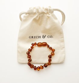 Grech & Co Amber kinder armband | strength