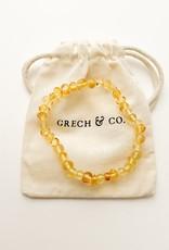 Grech & Co Amber volwassen amband | enlighten