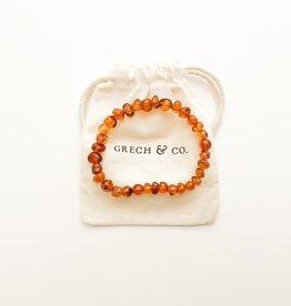 Grech & Co Amber volwassen armband | strength
