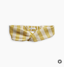 Sproet & Sprout Turban headband stripe mellow yellow