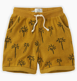 Sproet & Sprout Shorts terry palm tree