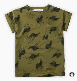 Sproet & Sprout T-shirt print cockatoo