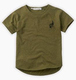 Sproet & Sprout T-shirt raglan cockatoo