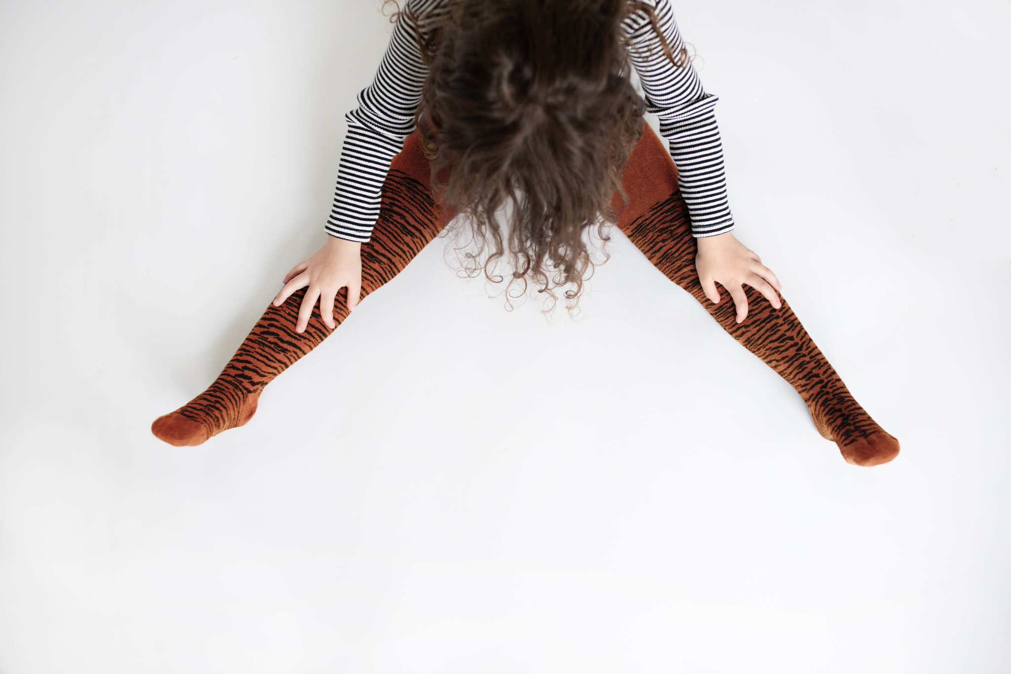 Sproet & Sprout Tights tiger