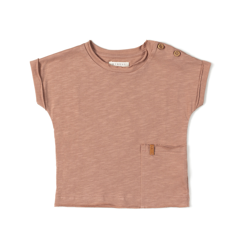 Nixnut T-shirt Lychee