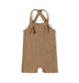 Nixnut Knot Playsuit Biscuit